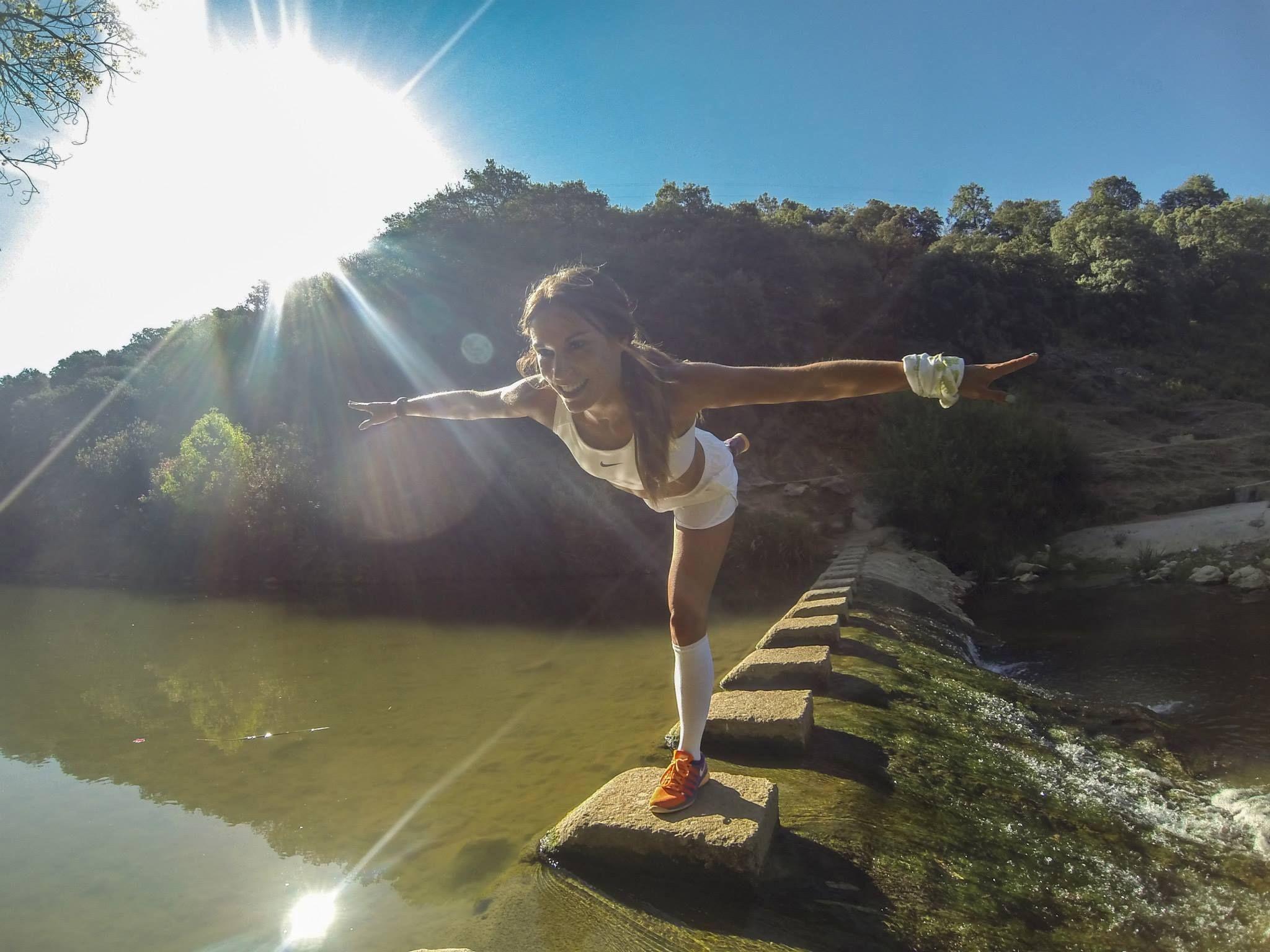 Yoga Con Paula Butrague O En Gran Senda De M Laga Etapa 25 De  # Muebles Butrageno
