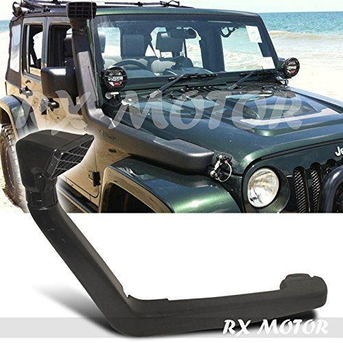 Rxmotor Jeep Wrangler Jk 3 8l Cold Air Intake With Snorkel Jeep