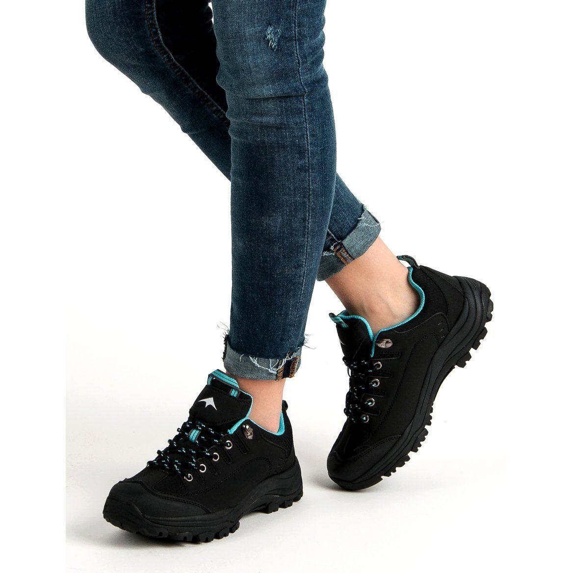 Czarne Buty Trekkingowe Trending Shoes Shoes Boots