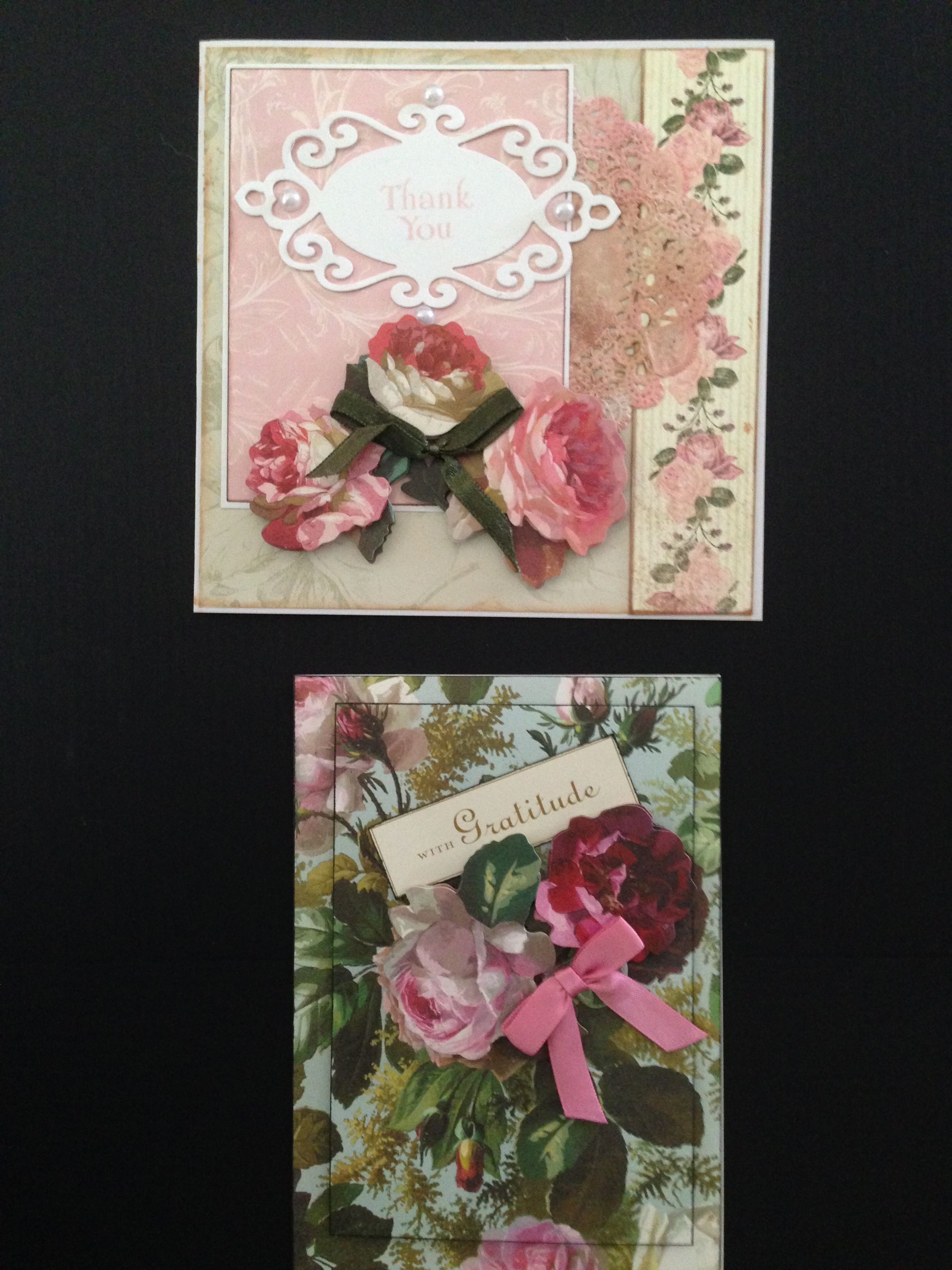 Feminine Cards - Roses Available individually; ORDERS ACCEPTED, please send me a message; Cards with Charisma