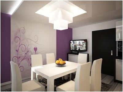 10 Comedores para Apartamentos Pequeños | Decoracion Apartamentos ...