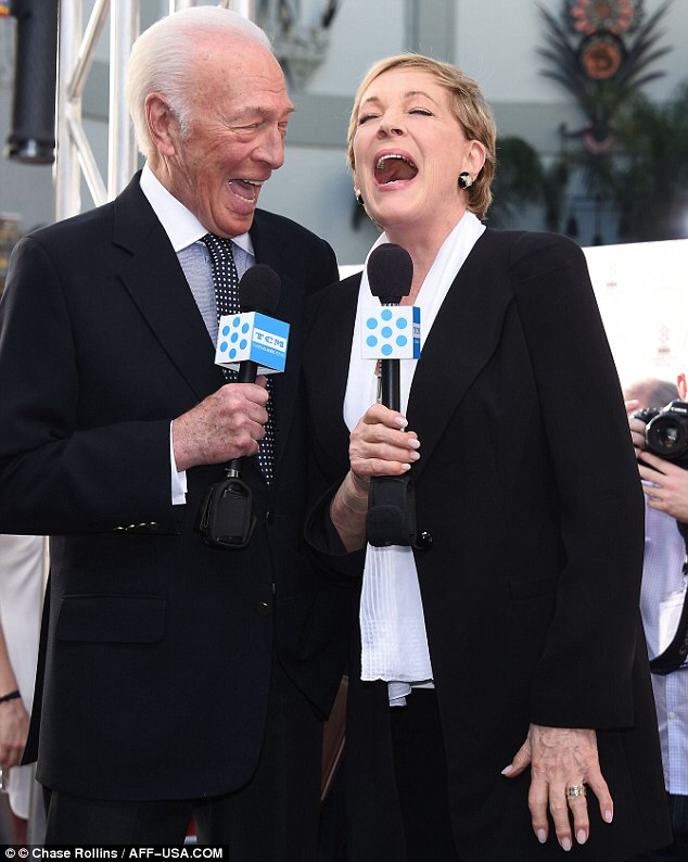 The Sound Of Music stars Julie Andrews and Christopher Plummer reunite