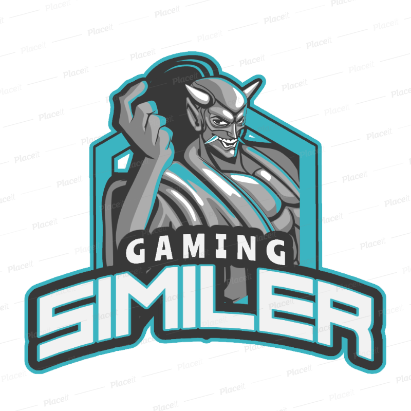 Placeit Gaming Logo Maker for an Aggressive Gaming Clan