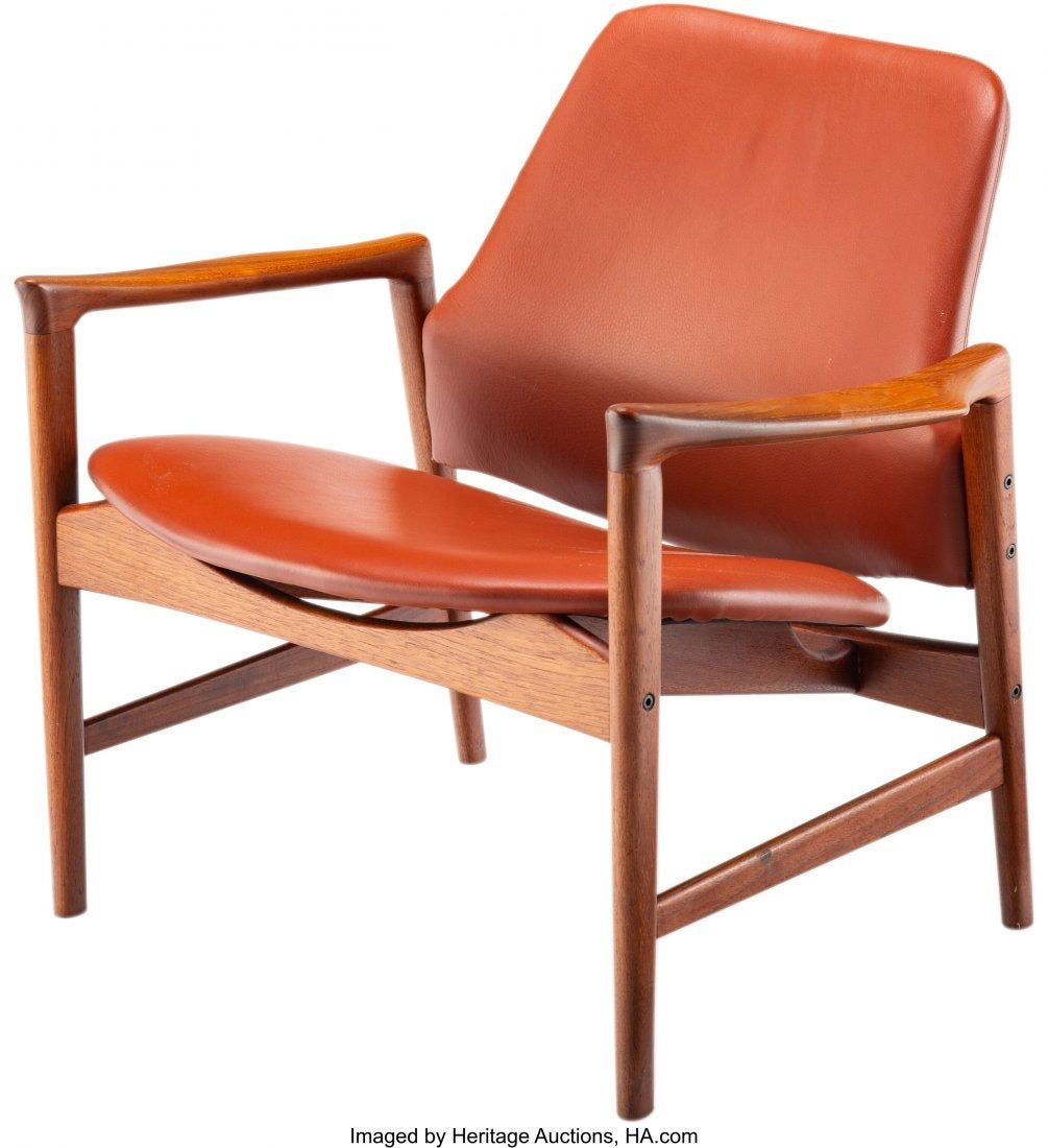67028: Ib Kofod-Larsen (Danish, 1921-2003) Lounge Chair