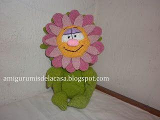 Amigurumis+de+la+Casa:+Una+florcita+(Wunderblume+clean)