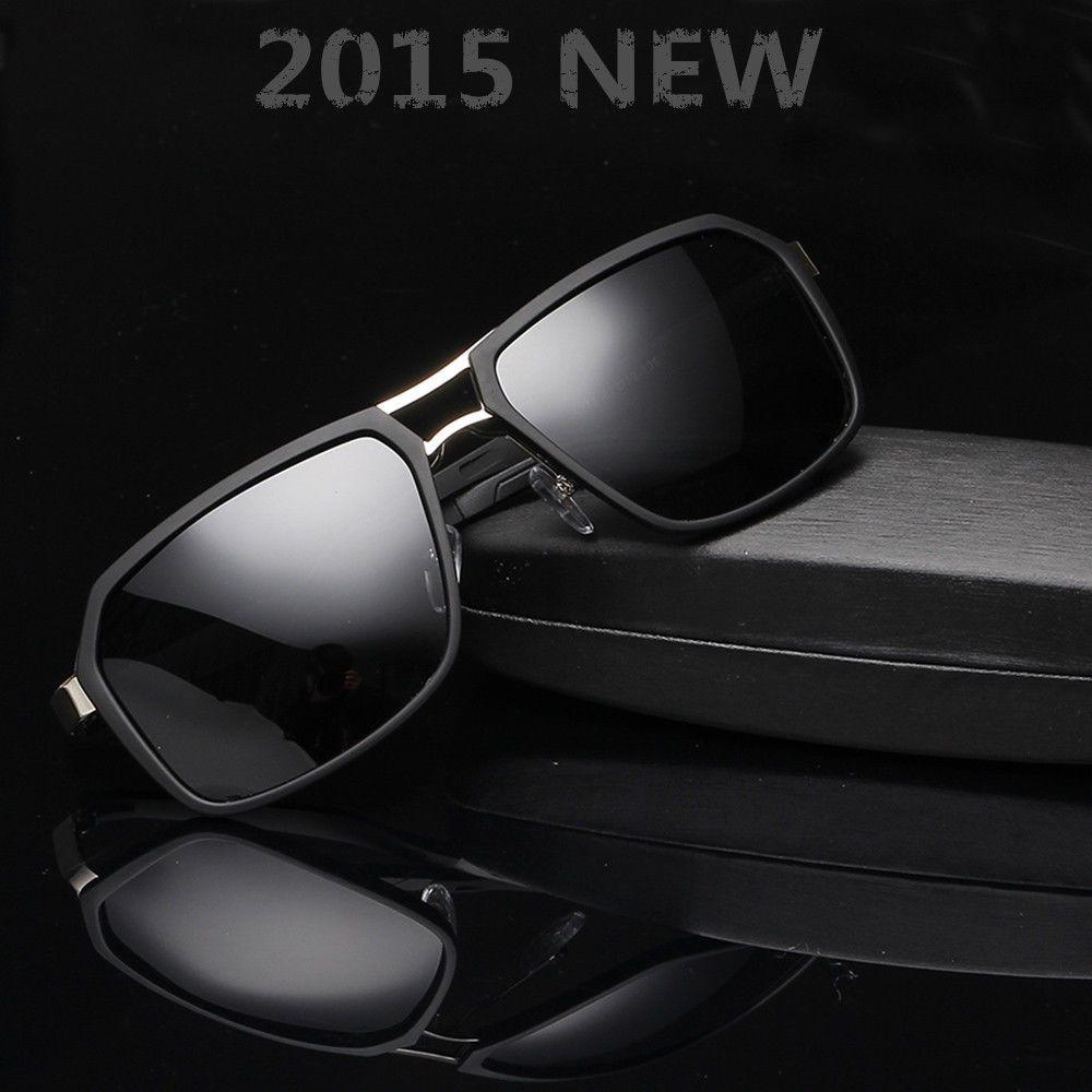 Polarisiert Herren Sonnenbrille Brillen Sport Pilotenbrille Vintage Sunglasses R2VP0j26P1