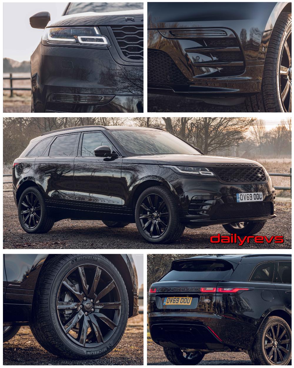 2020 Land Rover Range Rover Velar RDynamic Black HD