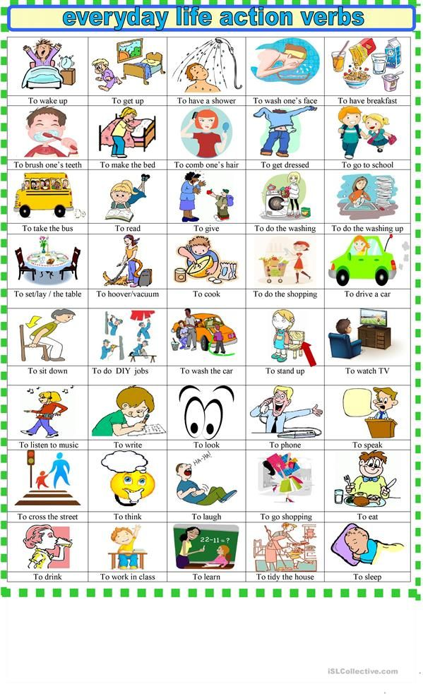 Every action verbs pictionary for beginners updated academic every action verbs pictionary for beginners updated solutioingenieria Image collections