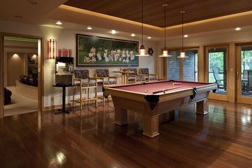 Awesome Finished Basements | Finished Basement Game Room Pool Table F  Design Ideas, Pictures .