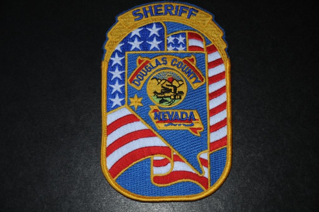 Douglas County Sheriff Patch, Nevada (Current Issue