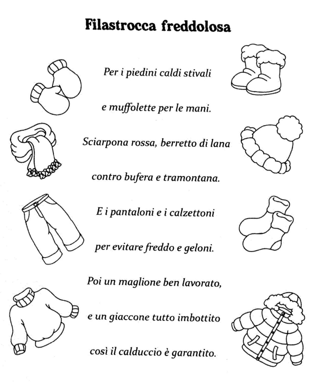 Poesia inverno sophia pinterest school winter e - Poesie primaverili per la scuola materna ...