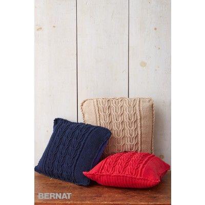 Free Intermediate Pillow Knit Pattern   Knitting inspiration ...
