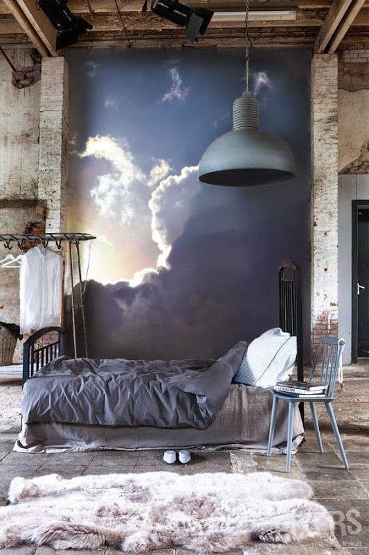 schlafzimmer wand deko ideen Wandgestaltung Pinterest