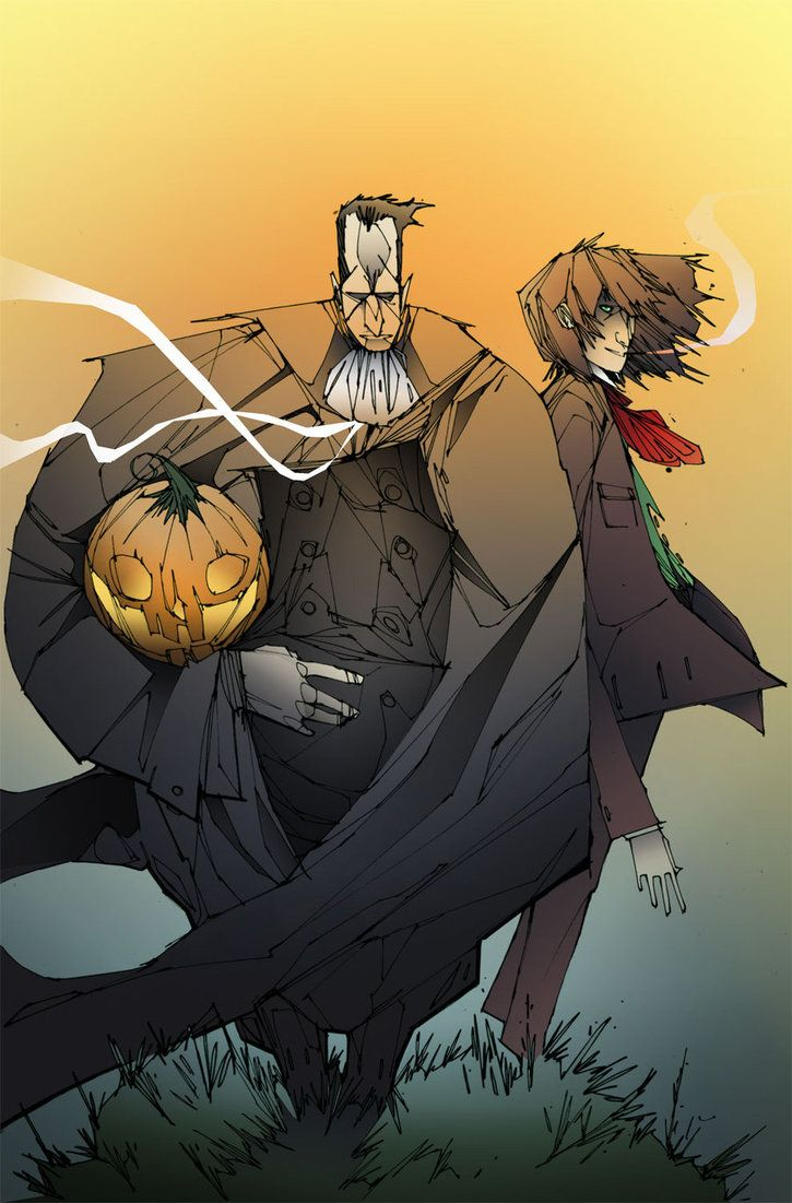 Issue #1 - All Hallows Eve - by RogueParadigm.deviantart.com on @DeviantArt