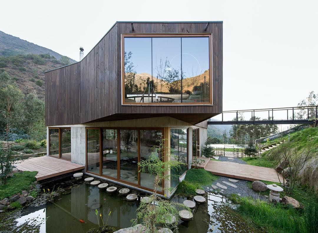 Casa El Maqui, #Olmué, #Chile 2014   Project by GITC ARCHITECTURE AND INNOVATION   Use #archilovers for a chance to be featured #architecture   Follow @archilovers [+830k]