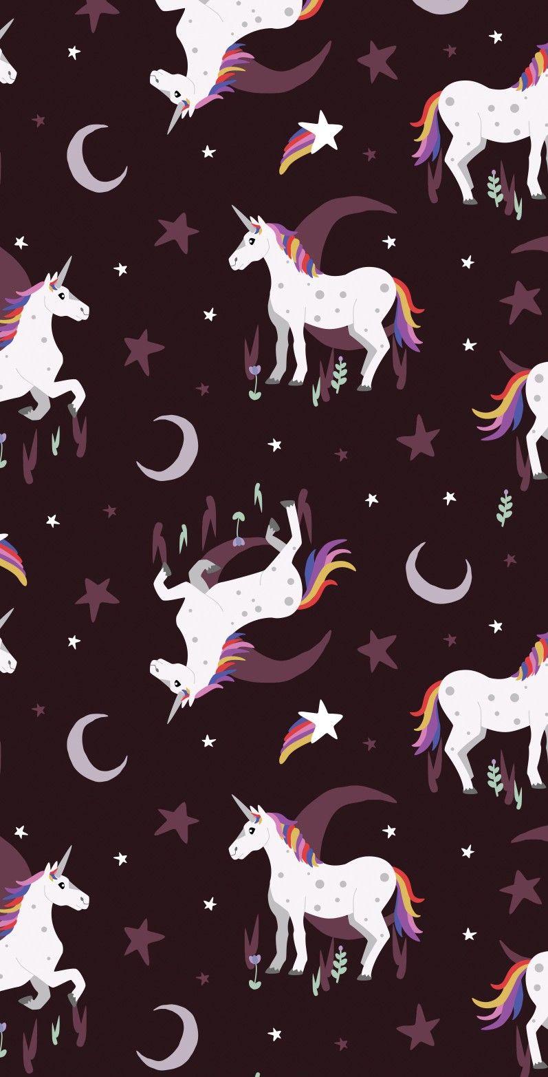 Unicorn And Rainbow Fondo De Pantalla Unicornio Dibujos Bonitos