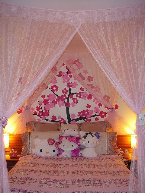 Hello Kitty Room Sanrio Décoration Chambre, Chambre Enfant, Chambres Roses,  Chambres Adolescente,