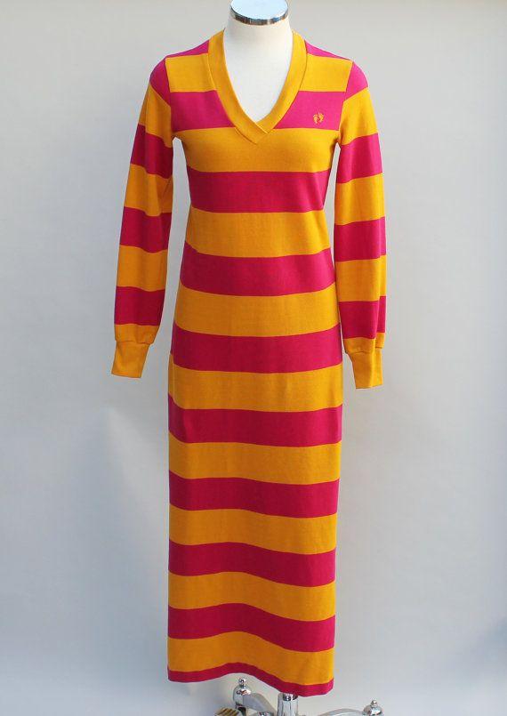 Hang ten maxi dress