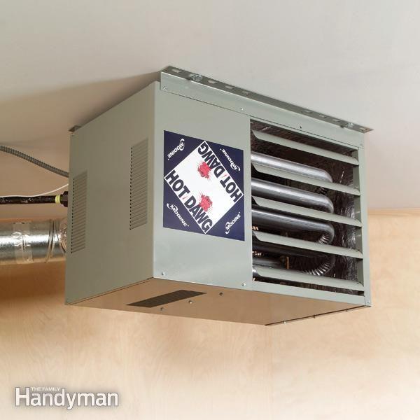 How To Heat A Garage Garage Decor Garage Heater Garage Remodel