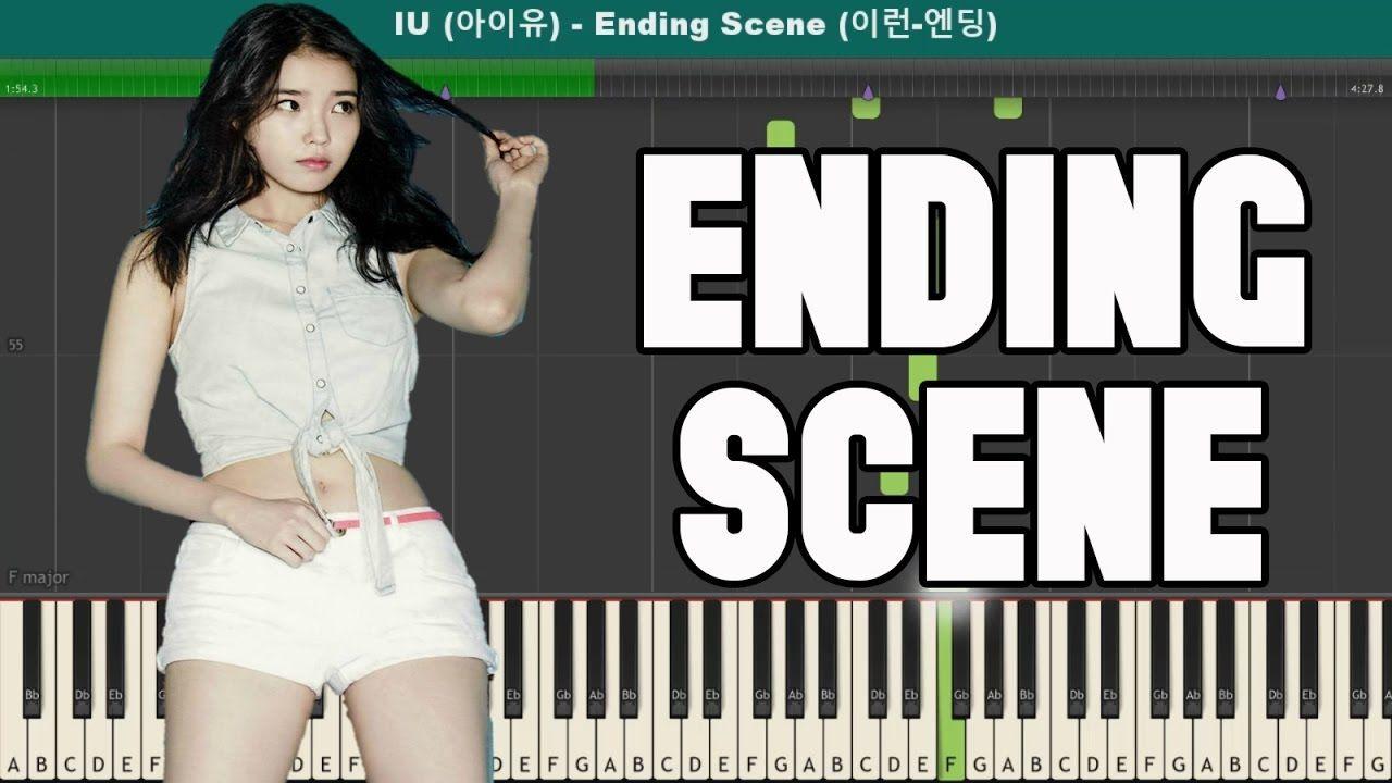 Ending Scene (이런 엔딩) Piano Tutorial - Free Sheet Music (IU 아이유)