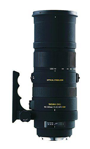 Sigma 150 500mm F 5 6 3 Af Apo Dg Os Hsm Telephoto Zoom Lens For Nikon Digital Slr Cameras Sigma Http Www Ama Nikon Digital Slr Telephoto Zoom Lens Zoom Lens