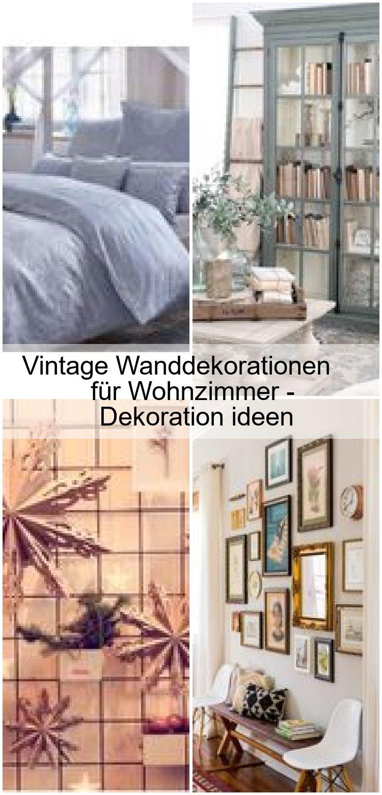 vintage wanddekorationen für wohnzimmer - dekoration ideen