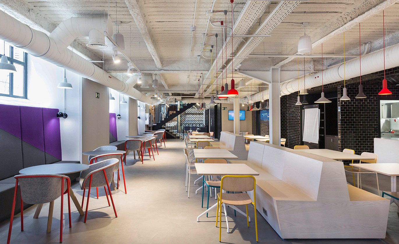 campus google madrid buscar con google interiorismo