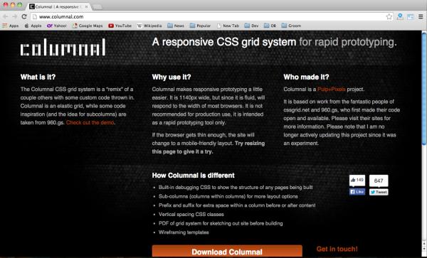 14 Best Html Css Frameworks For Designers Developers Web Marketing Responsive Grid System Css