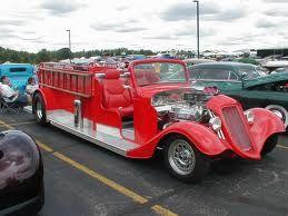 fire truck hot rod