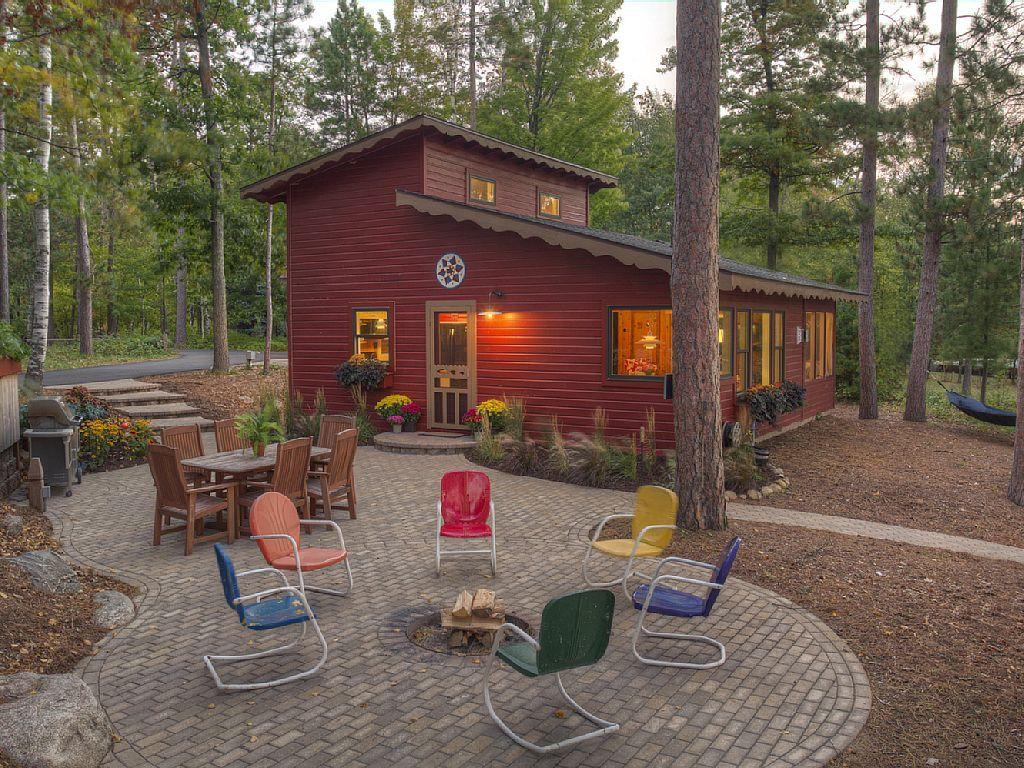 Classic minnesota cabin on beautiful lake obrien