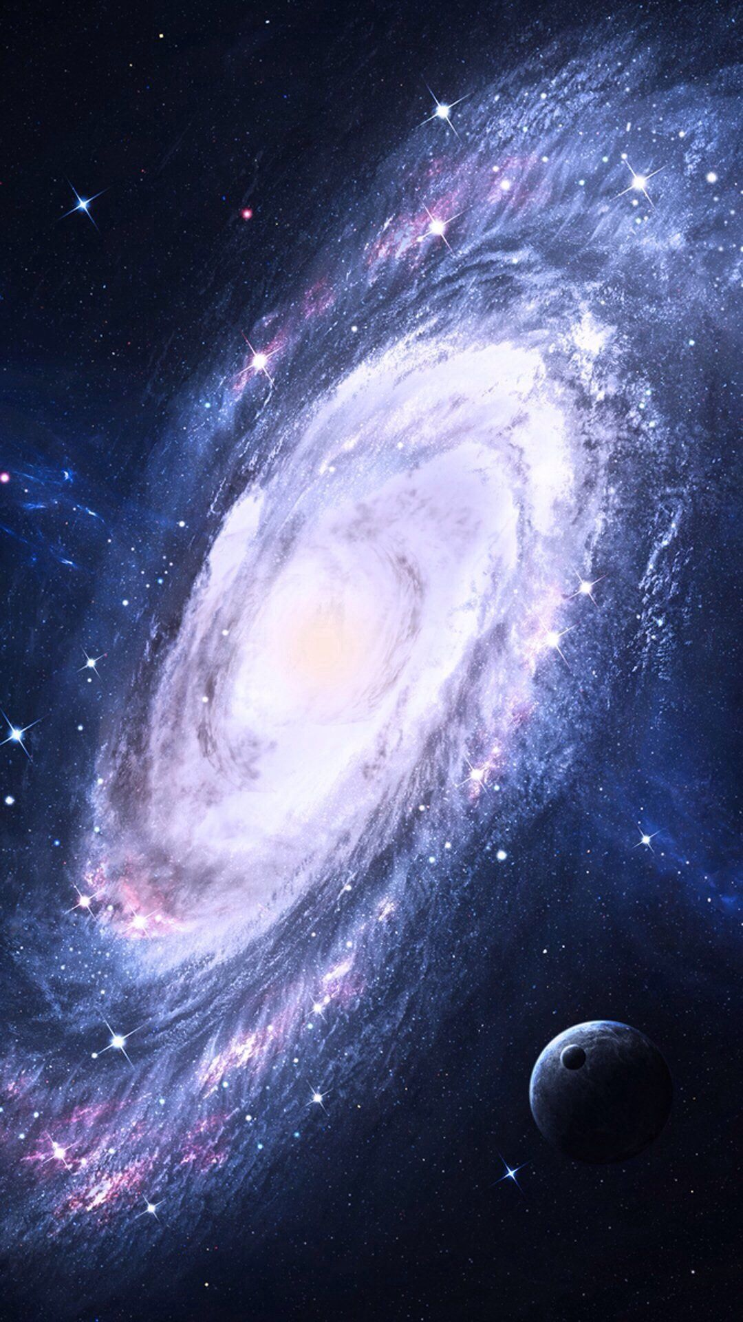 Galaxy Spiral Galaxy Outer Space Universe Milky Way Astronomical Object Andromeda Galaxy Galaxy Wallpaper Spiral Galaxy