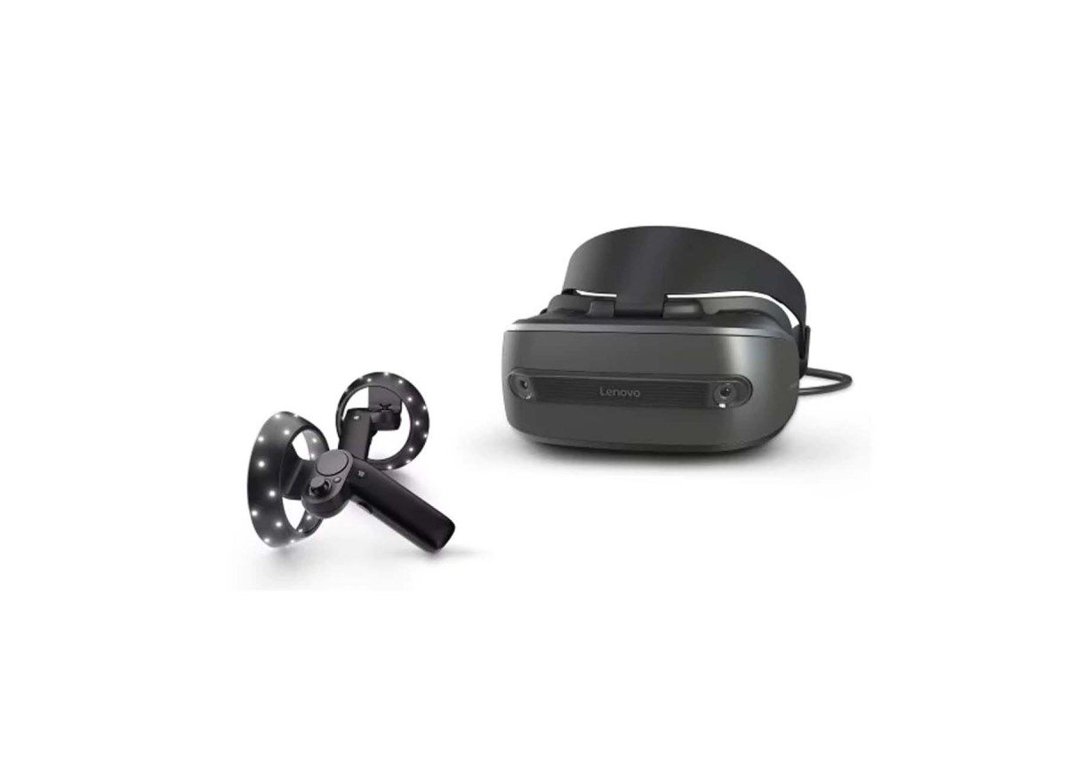 Lenovo Explorer Windows Mixed Reality Headset With Motion Controllers For 199 00 At Microsoft Headset Lenovo Microsoft