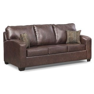 Brookline Queen Memory Foam Sleeper Sofa | American Signature Furniture