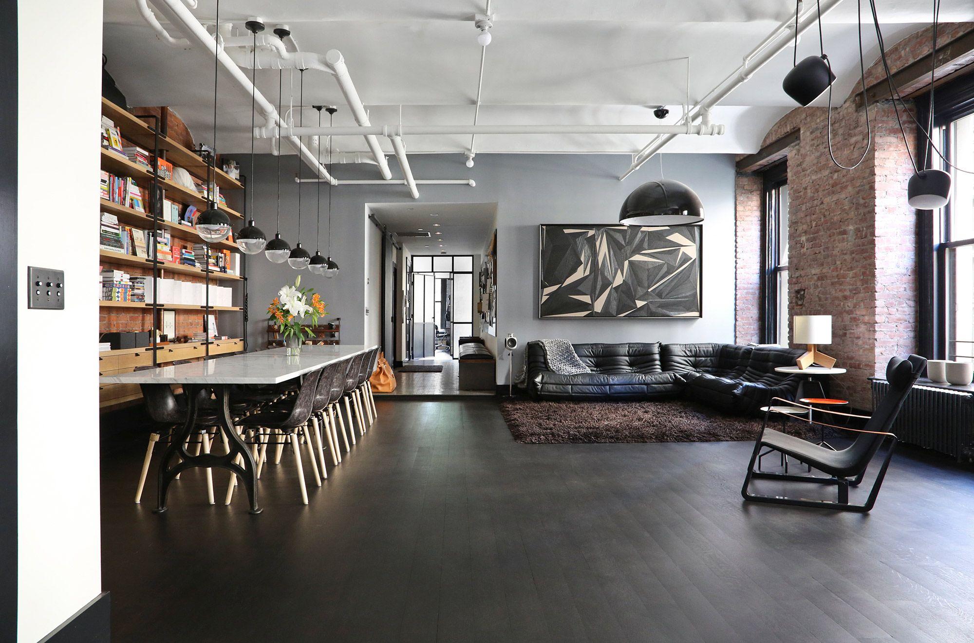 Great Jones Loft In New York Cableinterior Design Companies