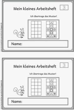 Muster übertragen (3) Linkshänder | Muster, Vorschule und Arbeitsblätter