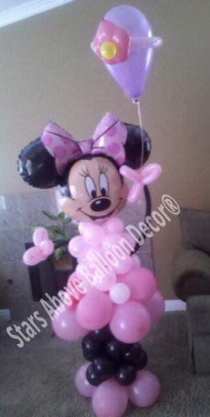 minnie mouse balloon idea