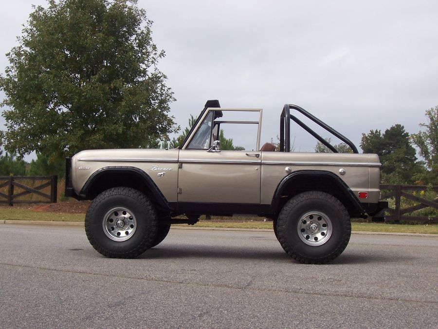 1969 Ford Bronco Sold Ford Bronco Bronco Classic Ford Broncos