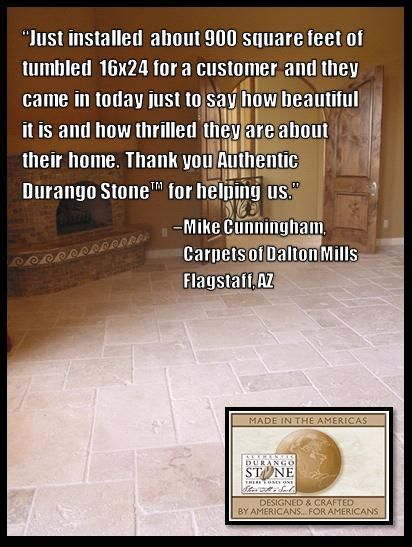 Authentic Durango Stone Gets A Reaction Before And After Installation Find Your Color