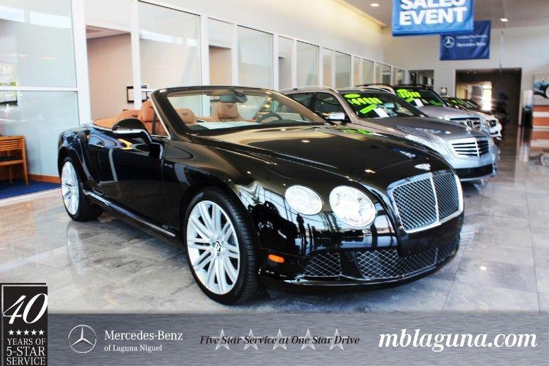 2014 Bentley Continental GT Speed Convertible in Laguna Niguel, California