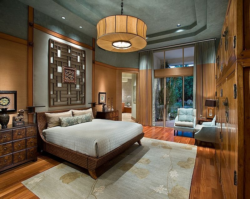 Asian Inspired Bedrooms: Design Ideas, Pictures Part 21
