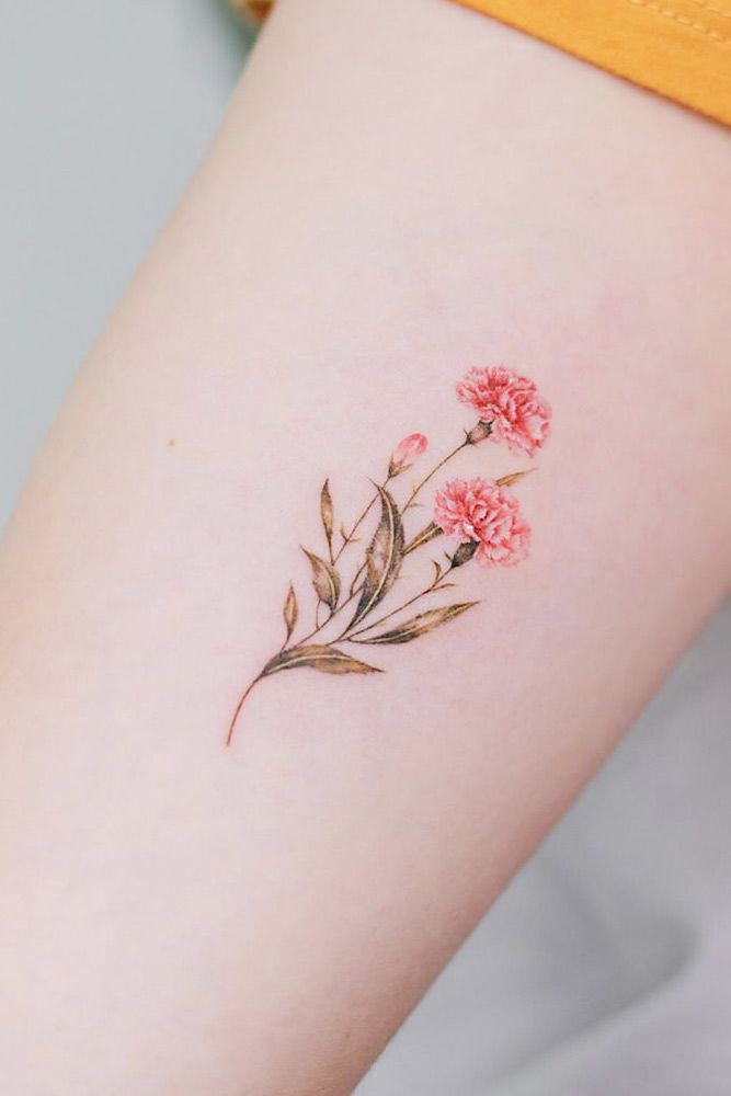 23 Flower Tattoos Designs And Meanings For Your Inspo Delicate Flower Tattoo Tattoo Designs Meanings Meaningful Flower Tattoos