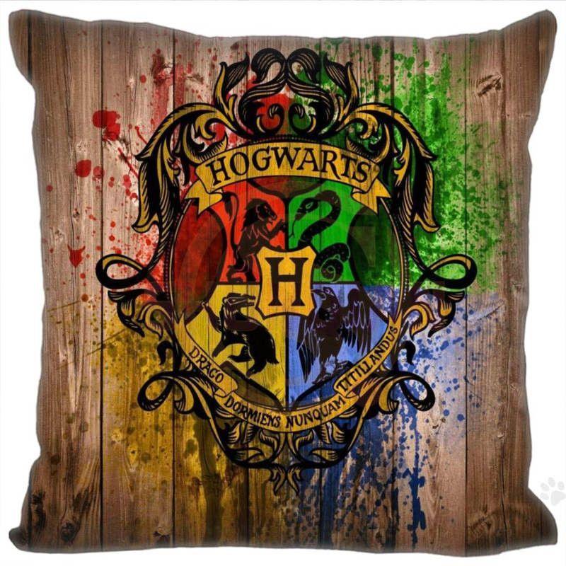 Harry potter New Hot Product Custom Square Pillowcase sizes 20x20cm 35x35cm 40x40cm