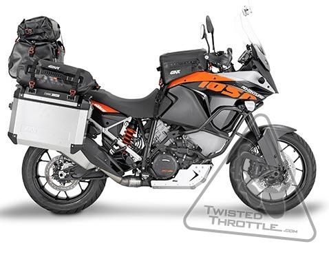 Givi Grt702 Gravel T Waterproof Cargo Bag 20 Liter Twistedthrottle Com Motos Guapas Motos Geniales Gs 1200 Adventure