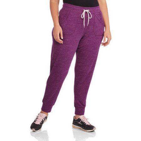 dc8278b616e1 Plus Size Danskin Now Women's Plus Knit Joggers, Size: 2XL, Purple