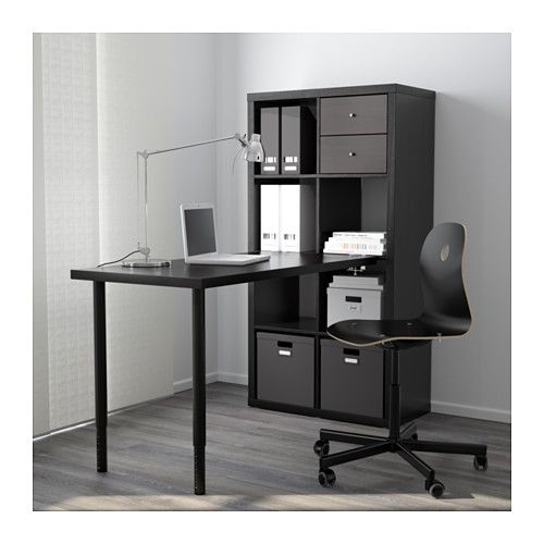 only 100 great for dividing space too kallax workstation black brown 30 3 8x57 7 8. Black Bedroom Furniture Sets. Home Design Ideas
