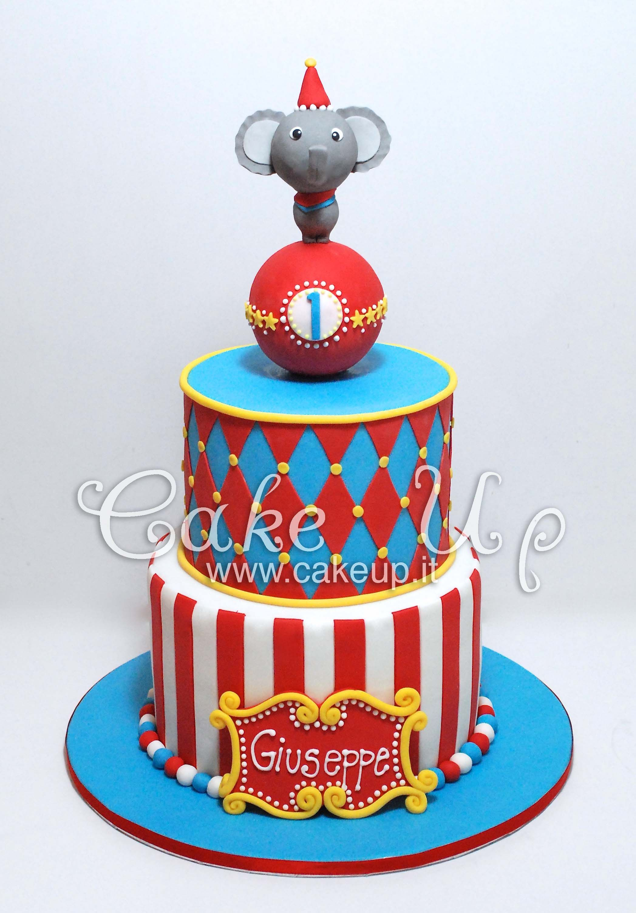 Pin On Circus Birthday Party