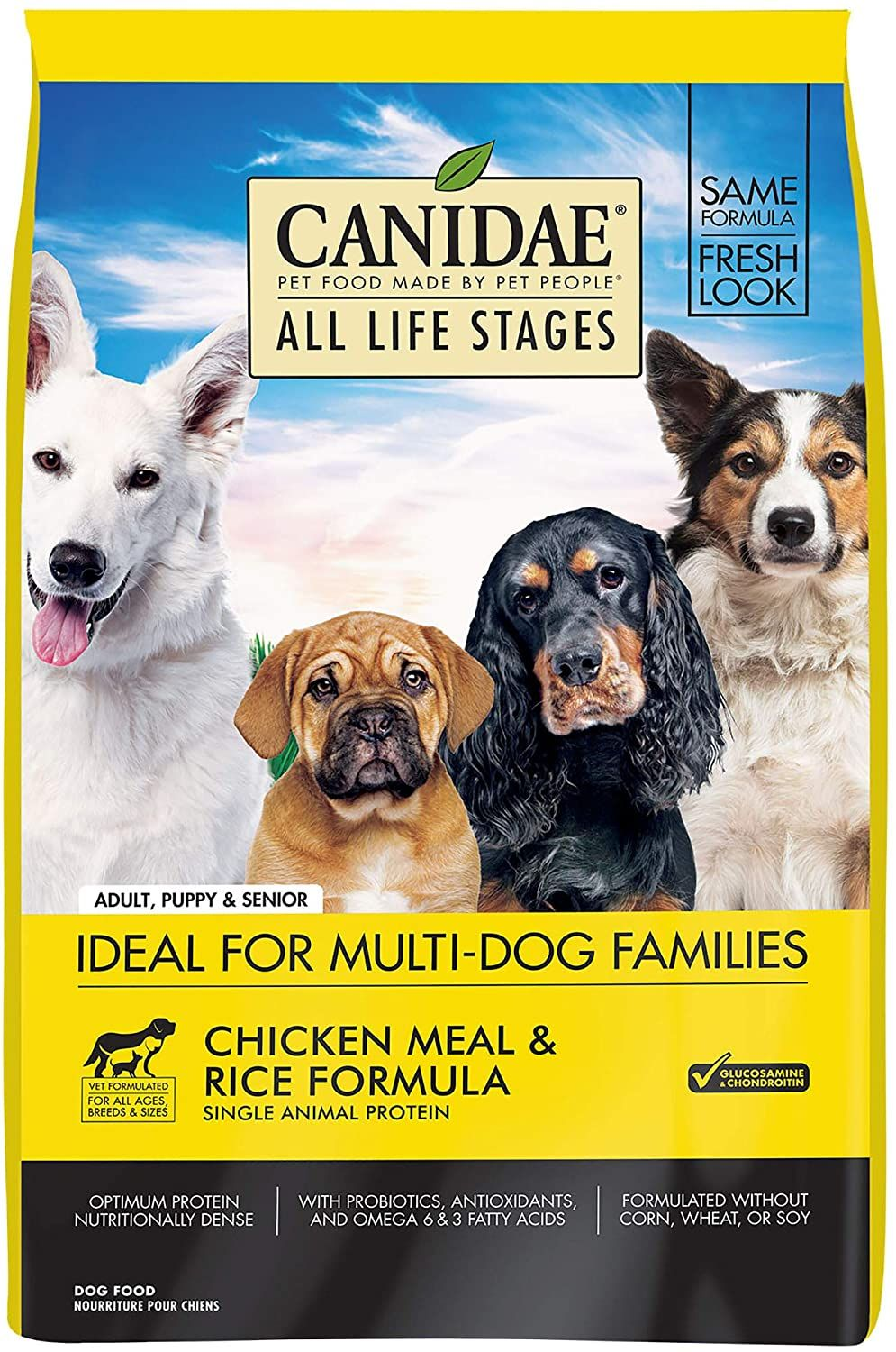 Canidae all life stages premium dry dog food chicken and