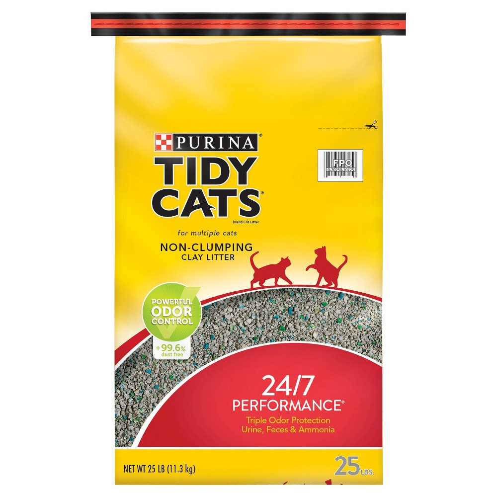 Purina Tidy Cats NonClumping 24/7 Performance Multiple