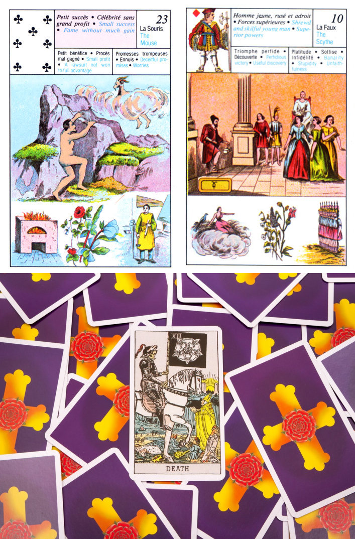 cartomancy love reading, free lenormand card reading and lenormand