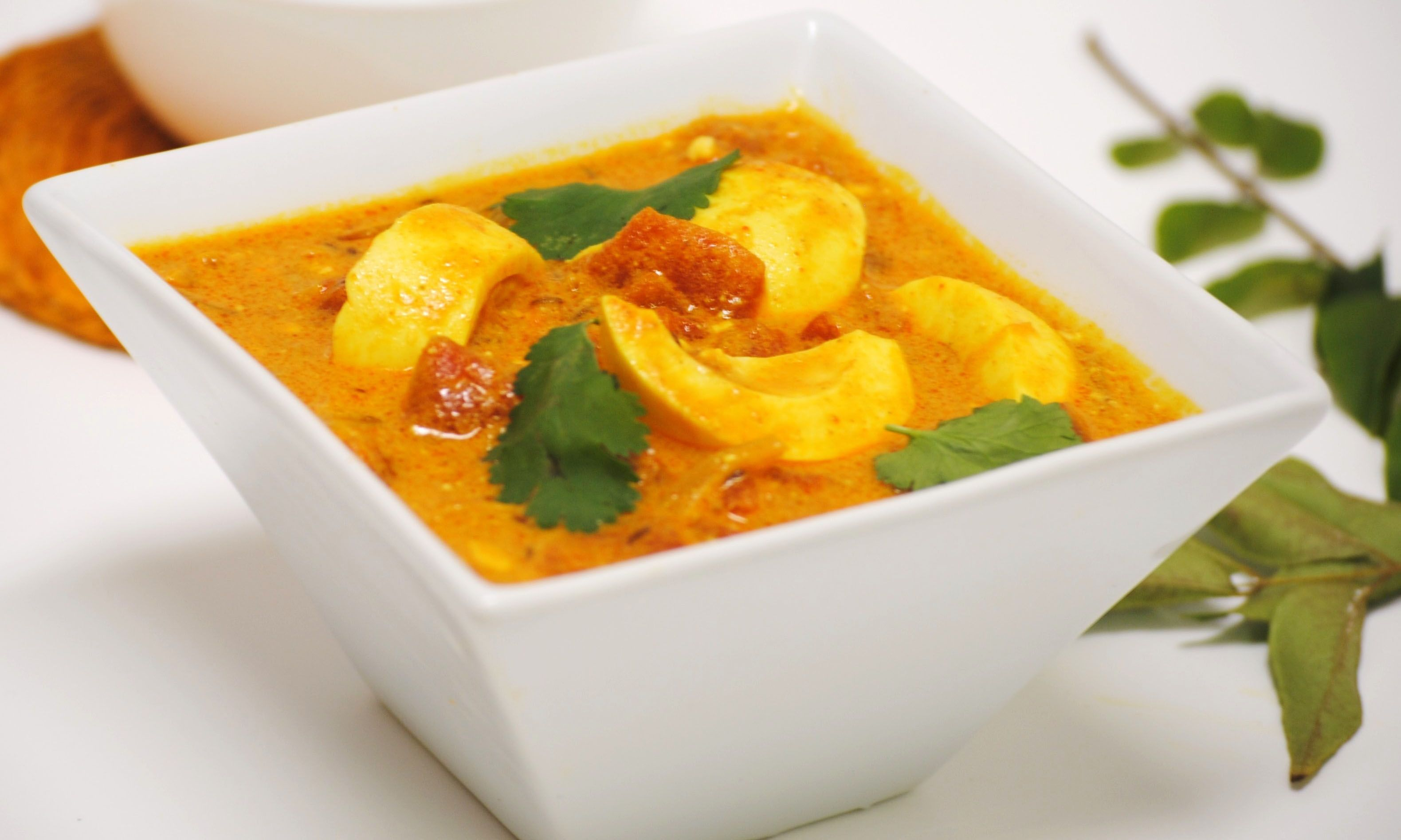 todays special egg curry spicy egg curry so can completely